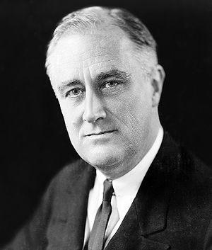 Franklin Delano Roosevelt, 1933. Lietuvių: Fra...